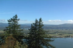 Columbia River countryside 2 - stock footage