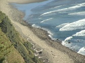 Ocean beach 5 Stock Footage
