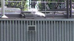 Smoke and metal Stock Footage