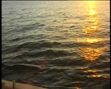 Sunset-at-sea3 Stock Footage
