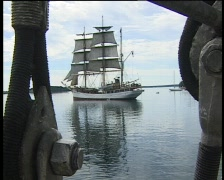 Tall-ship3-lunenburg Stock Footage