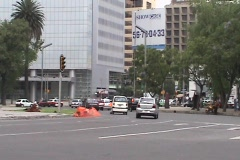 Mexico City Street Stock Footage