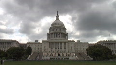 US Capitol Timelapse Stock Footage