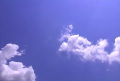 Scenic Clouds/MDSC 08 - stock footage