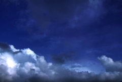 Scenic Clouds/MDSC 17 Stock Footage