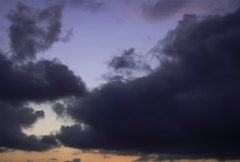 Scenic Clouds/MDSC 29 Stock Footage