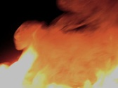 Stock Video Footage of Fire Blast/MDFB28