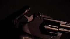 Magnum Gun Prop 2 Stock Footage