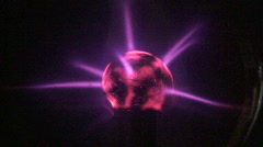 Plasma Fire Close Stock Footage