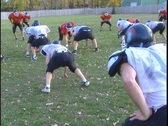 Stock Video Footage of Football practice