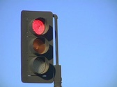 Stock Video Footage of Traffic light