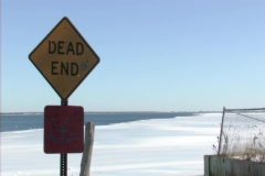 Dead End - stock footage