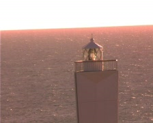 Lighthouse Cape Jervis Adelaide South Australia Stock Footage