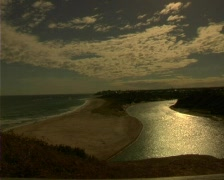 Southport River South Australia Stock Footage
