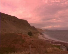 Pan Normanville South Australia - stock footage