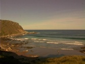 Stock Video Footage of Bluff Beach Victo Harbour Sotuh Australia