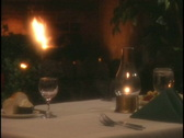 Stock Video Footage of dinner wine med