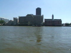 River Thames - stock footage
