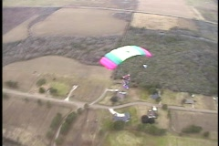 Skydive solo 3 Stock Footage