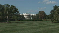 White House - wide shot Stock Footage