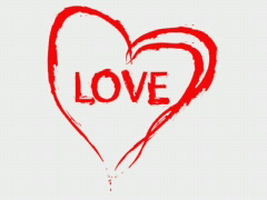 Love Heart - stock footage