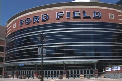 Ford Field - stock footage