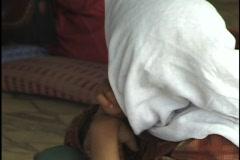 Jordan: Bedouin Girl - stock footage