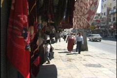 Amman, Jordan: People and traffic on the Streets of Amman - stock footage