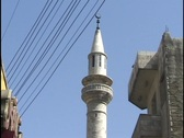 Amman, Jordan: People and traffic on the Streets of Amman Stock Footage