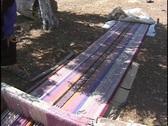 Jordan: Ground Loom Stock Footage