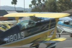 Acrobat Bi-Plane Stock Footage