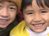 Stock Video Footage of Vietnam: Faces of excited Children