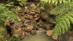 Stream of water - stock footage