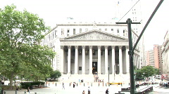 New York Court House (NY026) Stock Footage