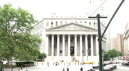 Stock Video Footage of New York Court House (NY026)