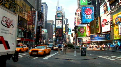 Times Square New York (NY033) Stock Footage