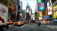 Stock Video Footage of Times Square New York (NY033)