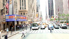 Radio City Wide New York (NY040) Stock Footage