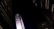 Stock Video Footage of Offices Night 2 New York (NY052)