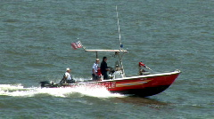 New York Fire and Rescue Boat (NY080) Stock Footage