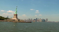 Statue of liberty New york (NY088) Stock Footage