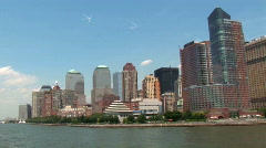 Stock Video Footage of Quick Pan New York (NY092)