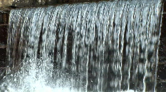 BR017 Small Waterfall	 - stock footage
