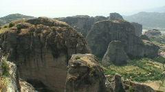 Meteora 01 / Greece - stock footage