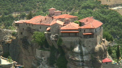 Meteora 03 / Greece Stock Footage