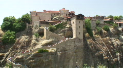 Meteora 05 / Greece Stock Footage