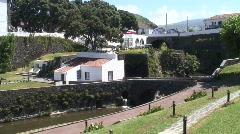Garden of the Ribeira Grande Stock Footage