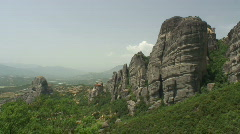 Meteora 11 / Greece Stock Footage