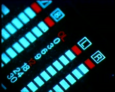 LEDS&KNOBS single 30 - stock footage