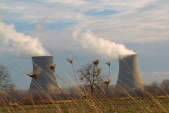 Nuclear Powered Electrical Energy - stock footage